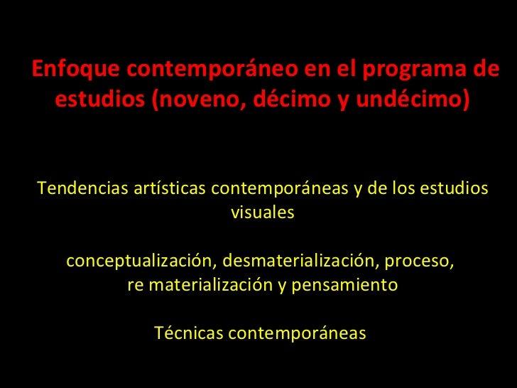 El Arte Conceptual Arte como proceso