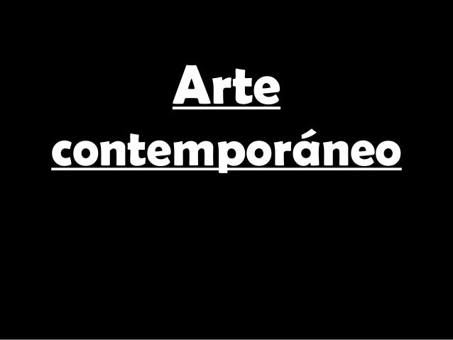 Artecontemporáneo