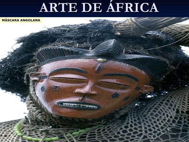 ARTE DE ÁFRICA MÁSCARA ANGOLANA