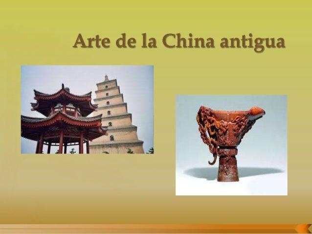 Arte De La China Antigua