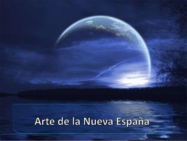 Arte de la Nueva España