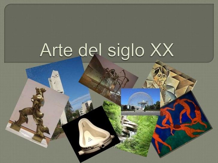  Elsiglo XX ha supuesto una pérdida del concepto de belleza clásica para conseguir un mayor efecto en el diálogo artista-...