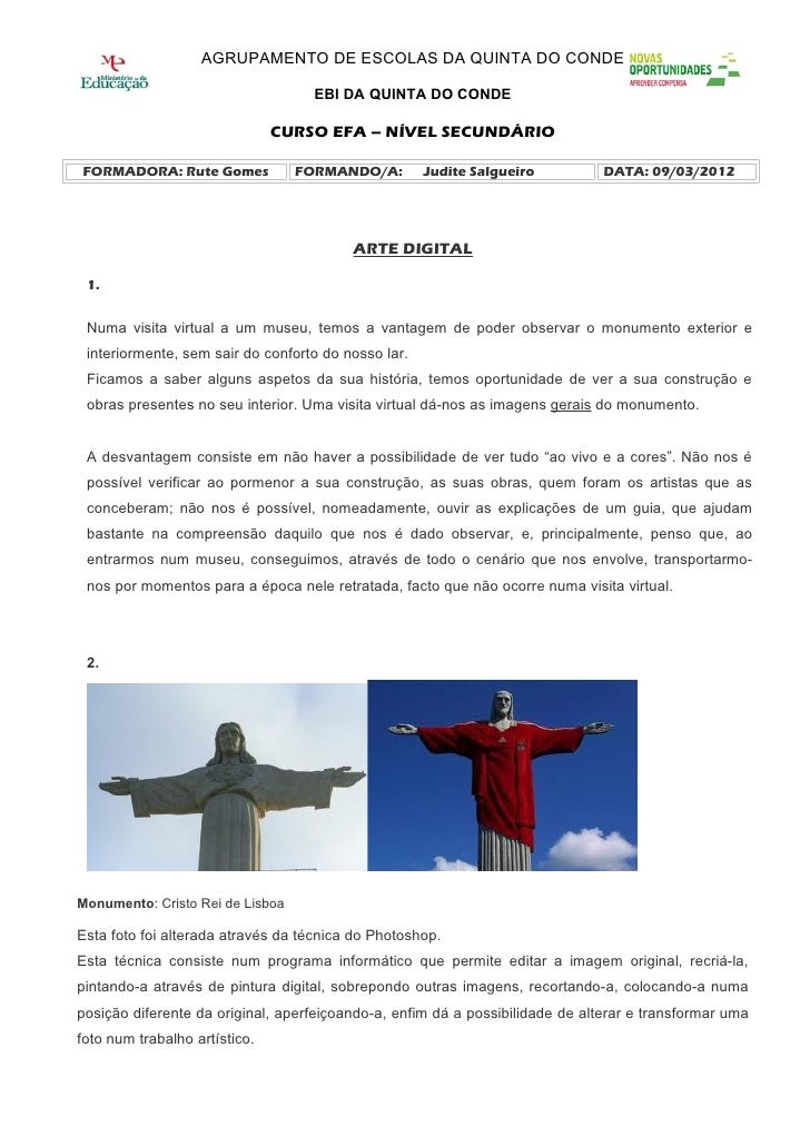 AGRUPAMENTO DE ESCOLAS DA QUINTA DO CONDE                                   EBI DA QUINTA DO CONDE                        ...