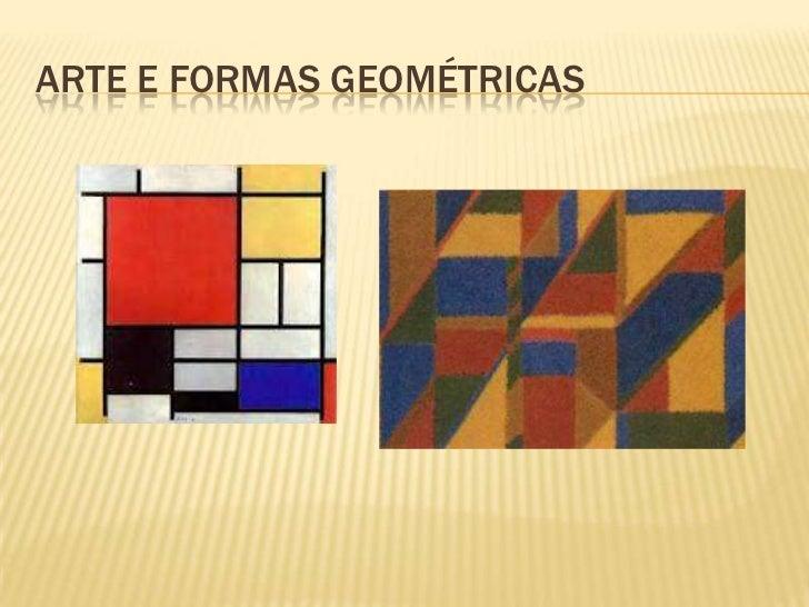 ARTE E FORMAS GEOMÉTRICAS