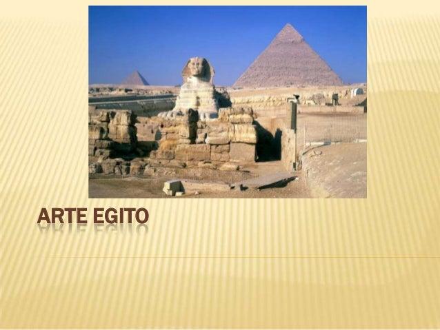 ARTE EGITO