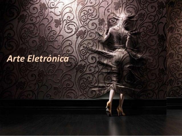 Arte Eletrónica