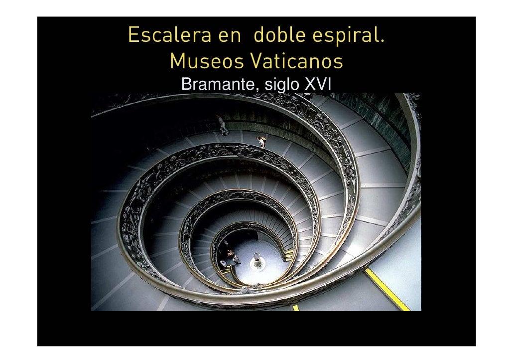 Arte en espiral - Escalera en espiral ...