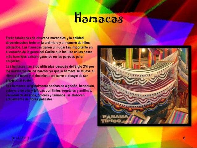 Arte en panam - Ganchos para hamacas ...