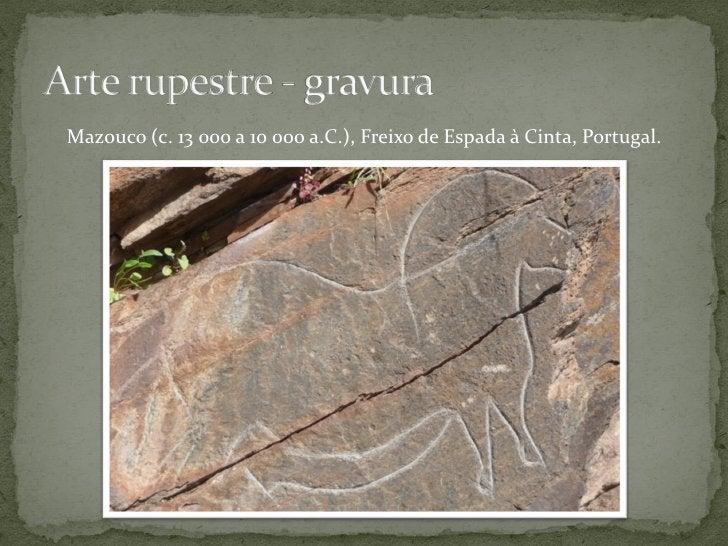 Pinturas rupestres na gruta de Altamira (c. 15 000 a.C.), Espanha.