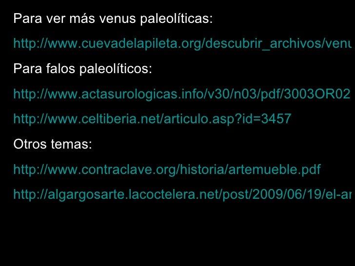 Prehistoria el erotismo en la historia del arte for Historia del mueble pdf