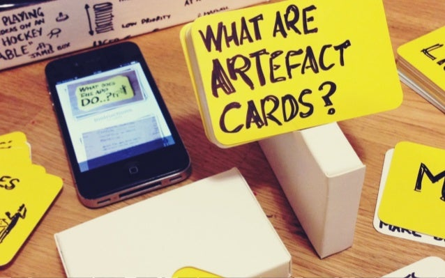 Artefact app - bridging two worlds
