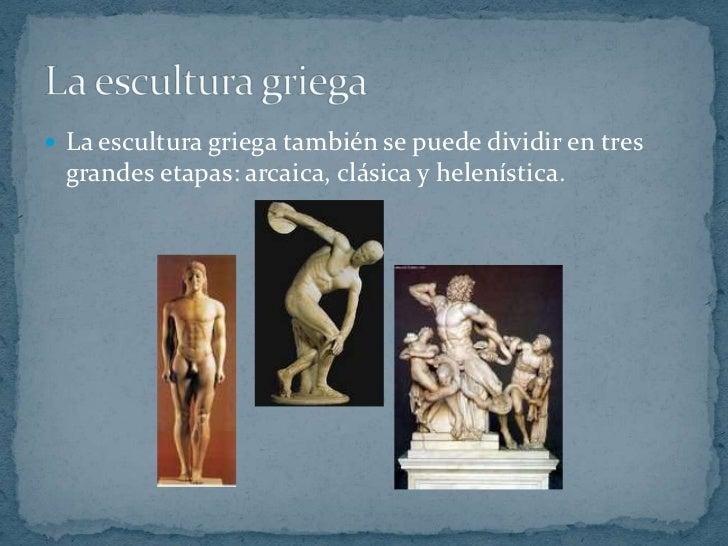 Arte griego Slide 3