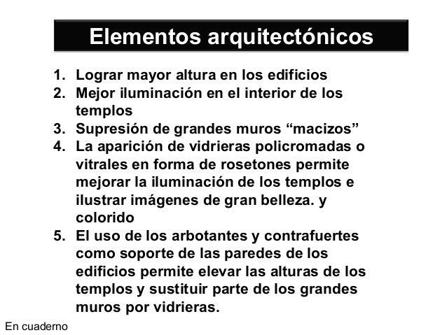 Arte gótico alumnos de 2do secciones A, B,C. Slide 2