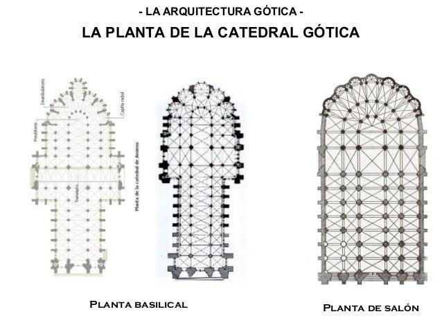 Arte g tico caracter sticas generales y arquitectura - Plantas para salon ...