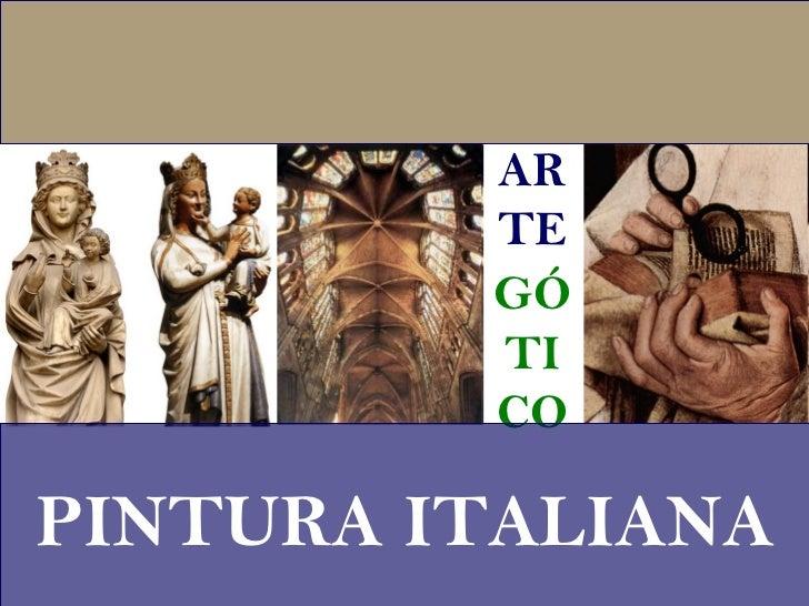 AR TE GÓ TI CO PINTURA ITALIANA