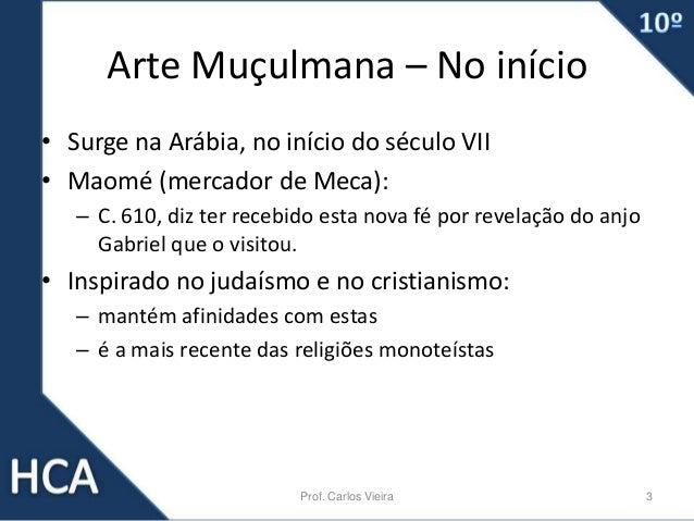 Cultura do Mosteiro - Arte islâmica Slide 3