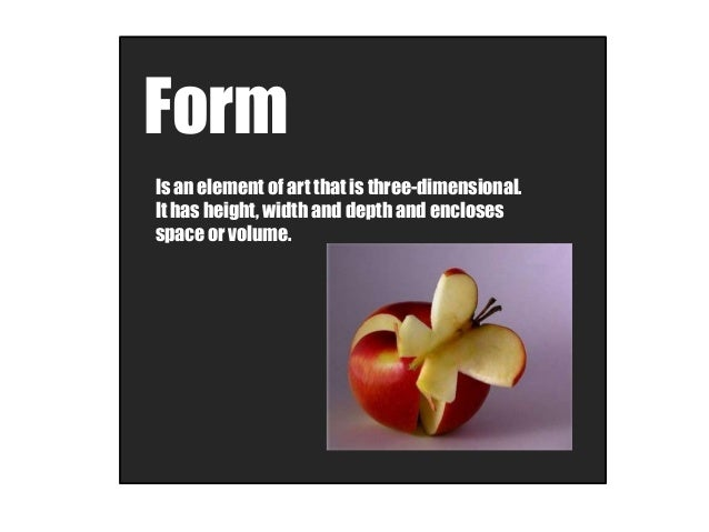 Elements Of Art Form : Art elements and principles