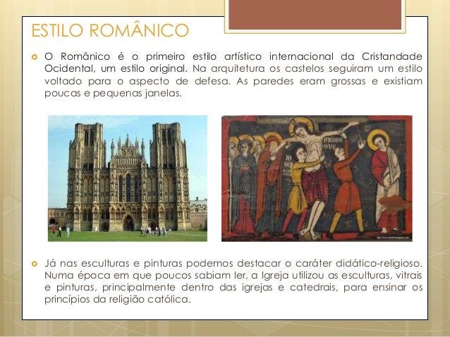 Arte medieval. Slide 2