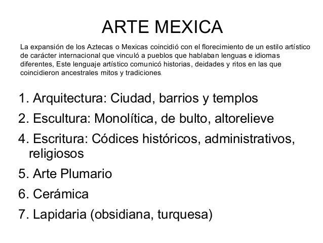 Arte Mexica (Azteca)