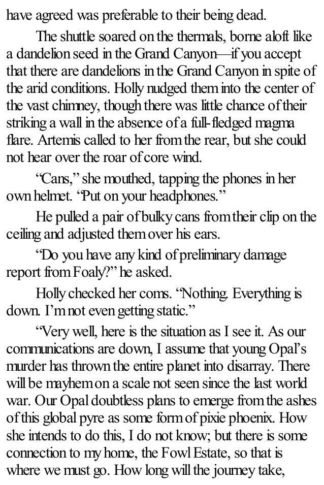 Artemis Fowl 08 The Last Guardian Eoin Colfer