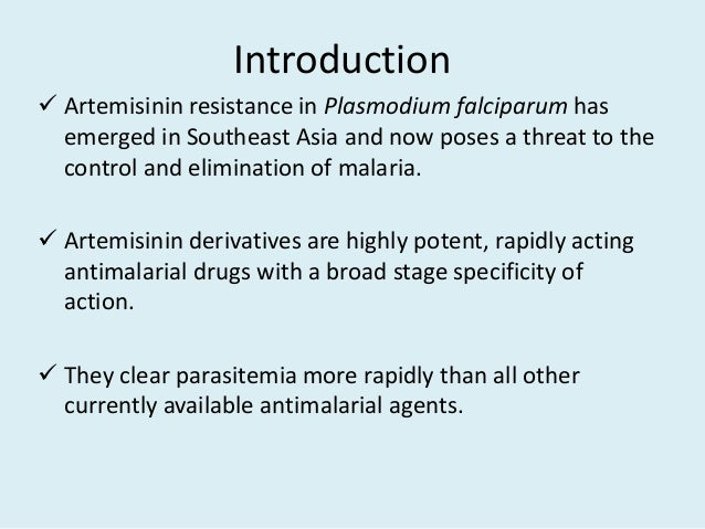 new derivatives of antimalarial drug artemisinin essay The tragedy caused by fake antimalarial drugs counterfeit antimalarials (mainly artemisinin derivatives) submit a new manuscript.