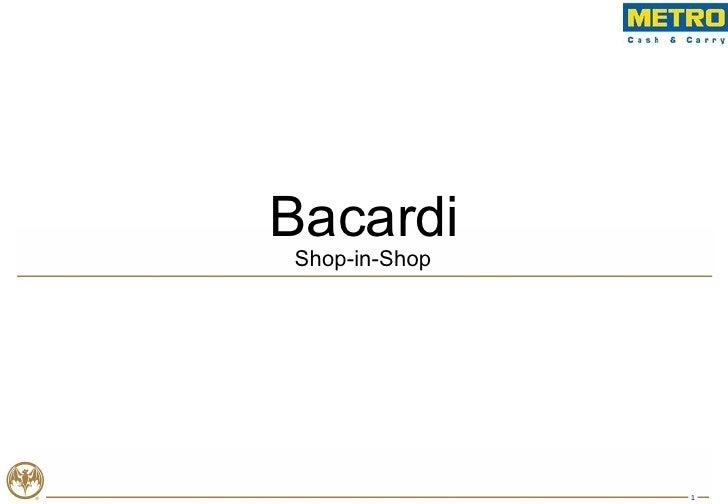 Shop-in-Shop Bacardi