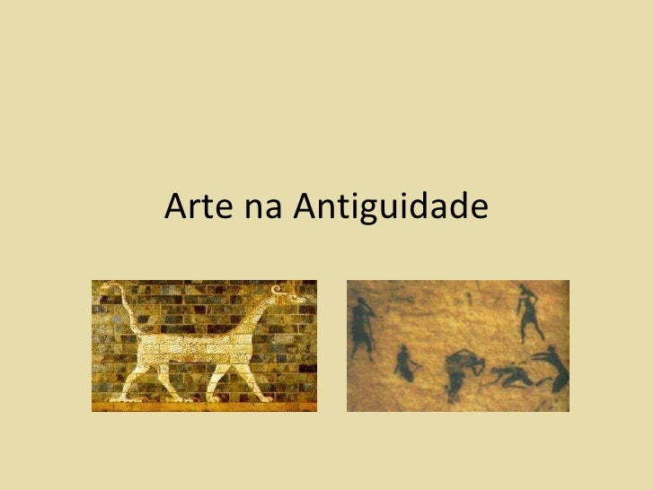 Arte na Antiguidade