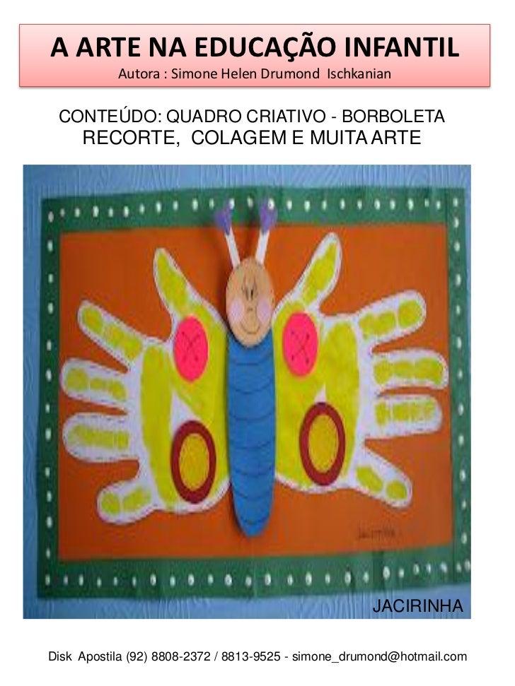 Excepcional Arte na educação infantil vol1 OR65