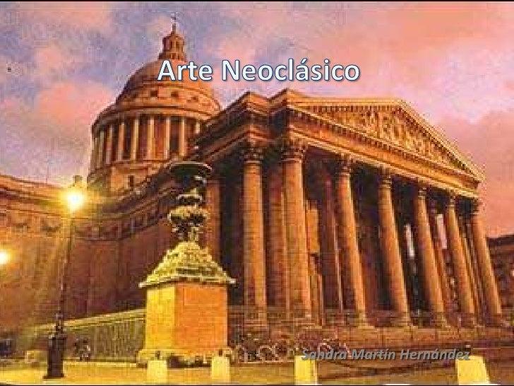 Arte neocl sico for Arte arquitectura definicion
