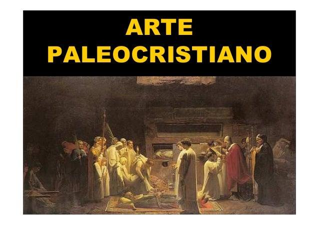 Mª Victoria Landa ARTE PALEOCRISTIANO