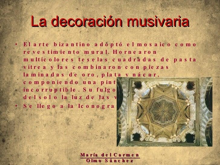 Arte paleocristiano y bizantino Decoracion minimalista definicion