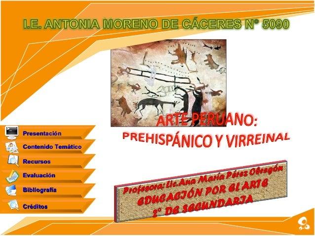 PresentaciónContenido TemáticoRecursosEvaluaciónBibliografíaCréditos