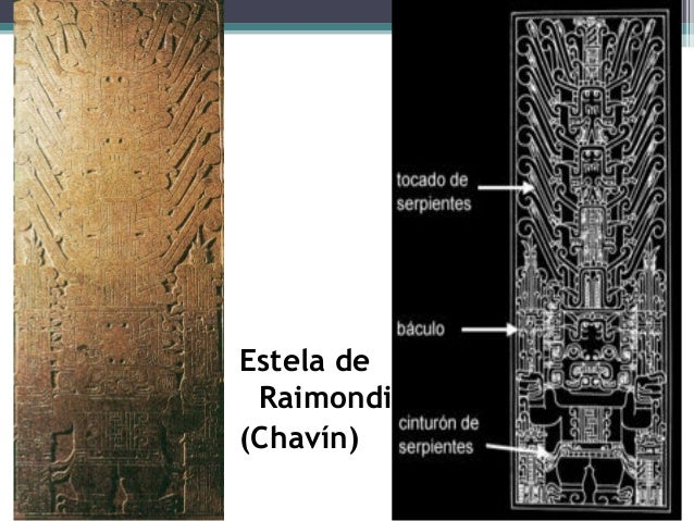 Estela de Raimondi (Chavín)