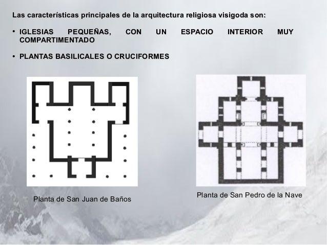 Resultado de imagen de Plantas de las iglesias visigodas