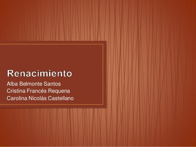 Alba Belmonte Santos Cristina Francés Requena Carolina Nicolás Castellano
