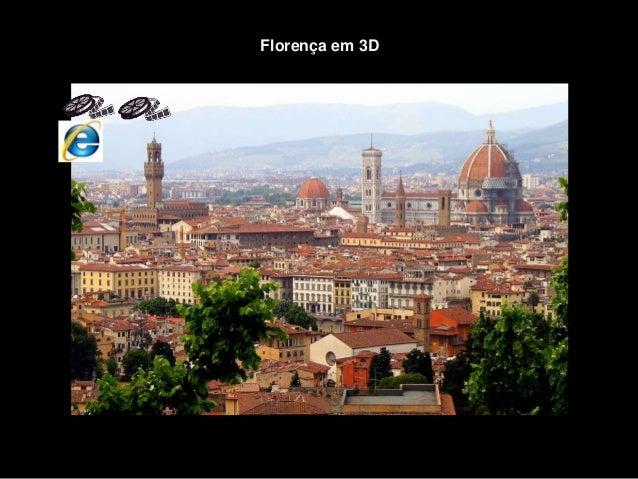Florença em 3D