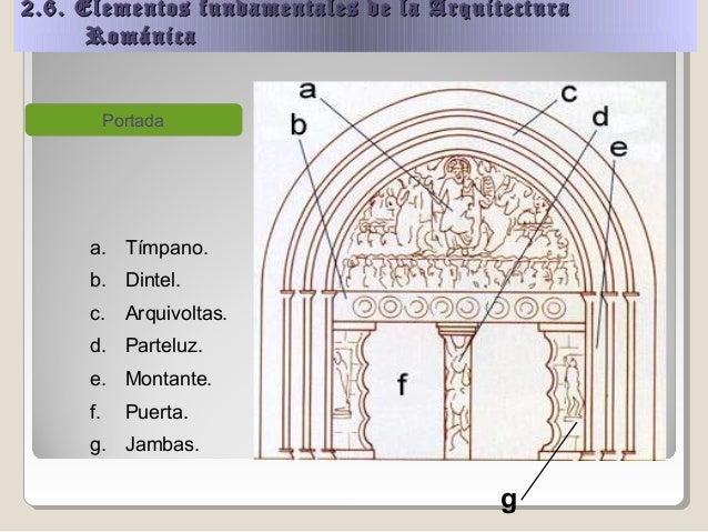 Arte romanico for Portadas de arquitectura