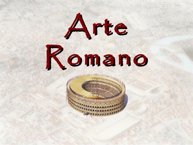 Arte Romano