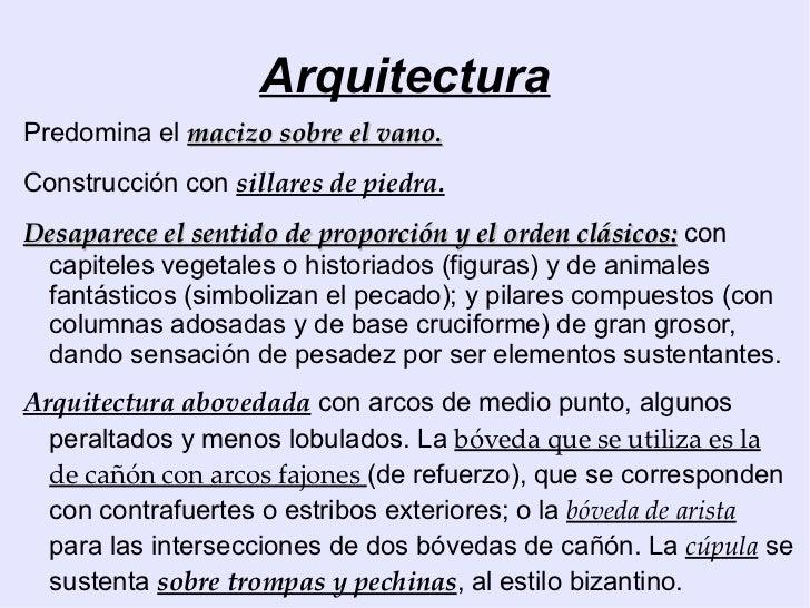Arte rom nico arquitectura for Arte arquitectura definicion