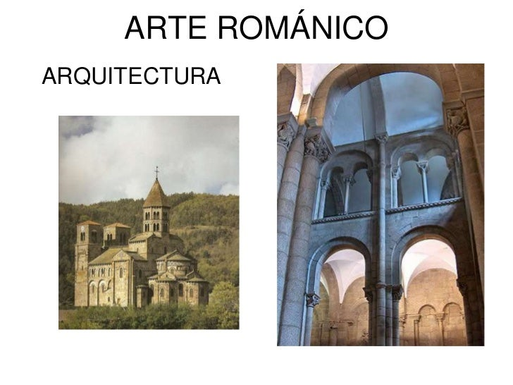 ARTE ROMÁNICOARQUITECTURA