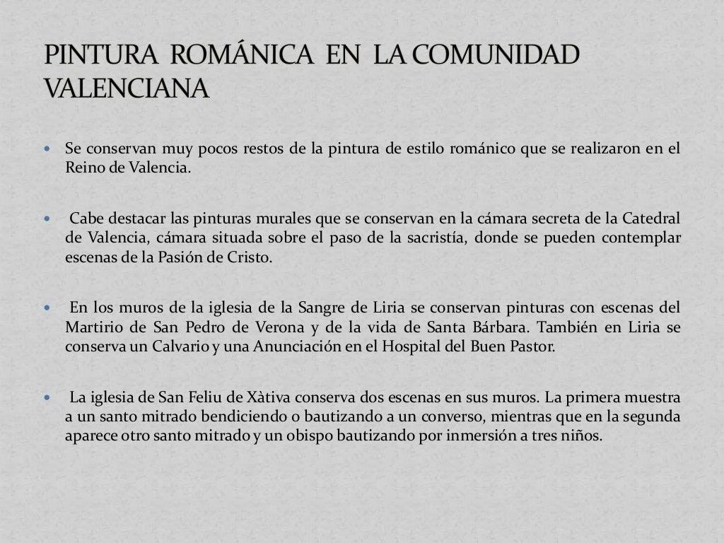 Pintura mural de la Cámara Secreta de la Catedral de Valencia. Escenas de la vida de Santa Bárbara. Iglesia de la Sangre d...