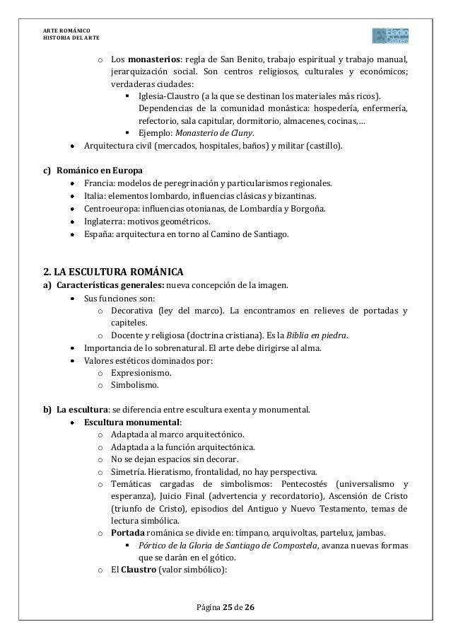 Arte románico en pdf