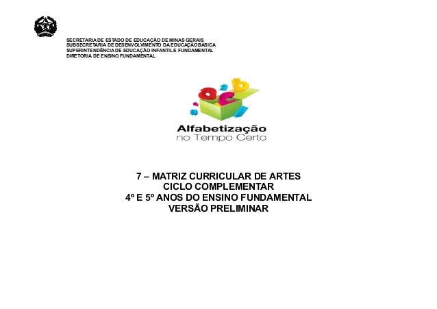 SECRETARIA DE ESTADO DE EDUCAÇÃO DE MINAS GERAIS SUBSECRETARIA DE DESENVOLVIMENTO DA EDUCAÇÃOBÁSICA SUPERINTENDÊNCIA DE ED...