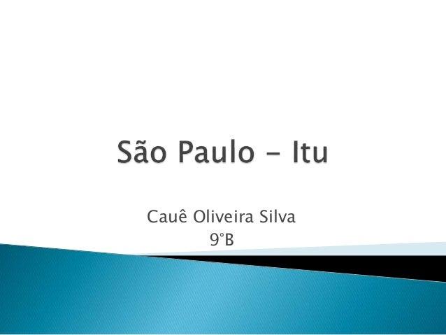 Cauê Oliveira Silva 9°B