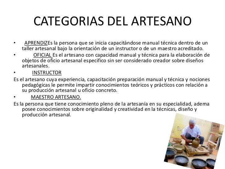 Artesania Definicion de ceramica