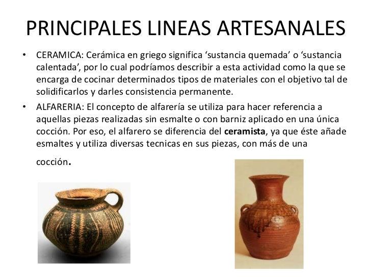 Artesania for Concepto de ceramica