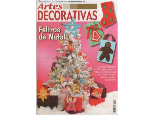 Artes decorativas natalinas