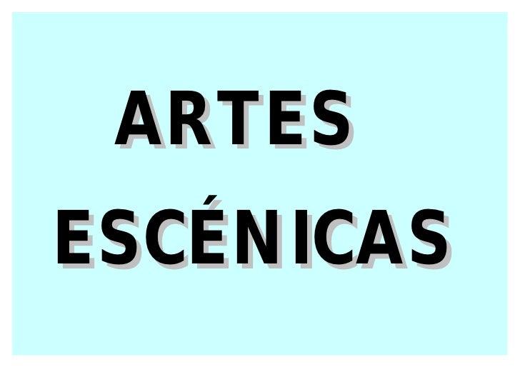ARTESESCÉNICAS