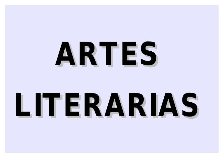 ARTESLITERARIAS