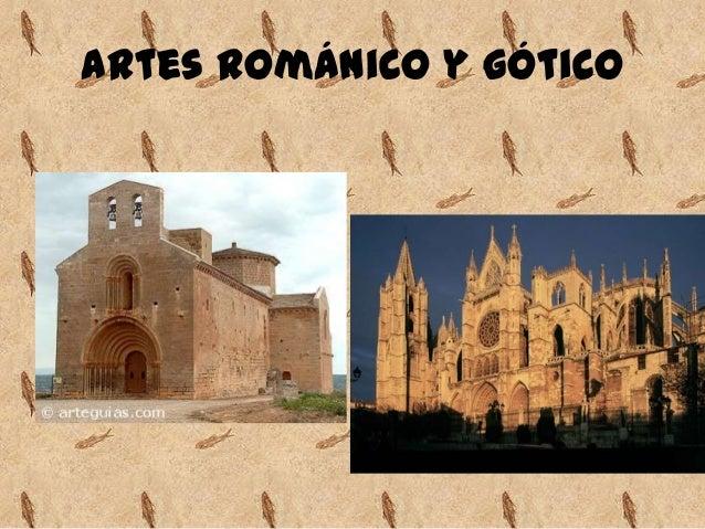 Resultado de imagen de romanico y gotico